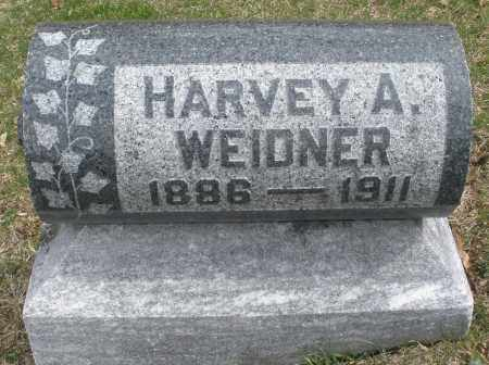 WEIDNER, HARVEY A. - Montgomery County, Ohio | HARVEY A. WEIDNER - Ohio Gravestone Photos