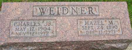 WEIDNER JR., CHARLES - Montgomery County, Ohio | CHARLES WEIDNER JR. - Ohio Gravestone Photos