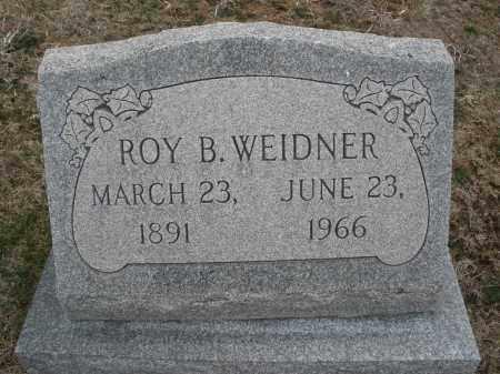 WEIDNER, ROY B. - Montgomery County, Ohio | ROY B. WEIDNER - Ohio Gravestone Photos