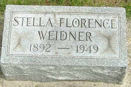 WEIDNER, STELLA FLORENCE - Montgomery County, Ohio | STELLA FLORENCE WEIDNER - Ohio Gravestone Photos