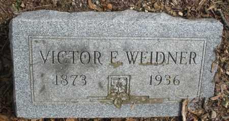 WEIDNER, VICTOR F. - Montgomery County, Ohio | VICTOR F. WEIDNER - Ohio Gravestone Photos