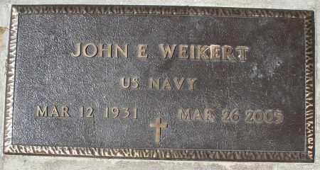 WEIKERT, JOHN  E. - Montgomery County, Ohio | JOHN  E. WEIKERT - Ohio Gravestone Photos