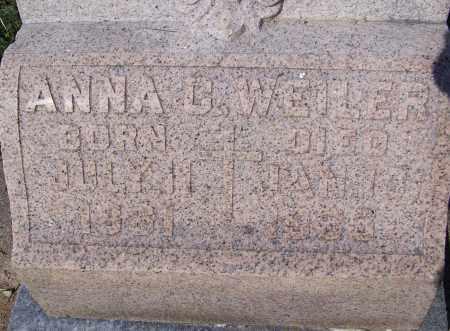 WEILER, ANNA C. - Montgomery County, Ohio | ANNA C. WEILER - Ohio Gravestone Photos