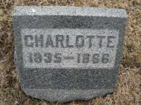 WEISER, CHARLOTTE - Montgomery County, Ohio | CHARLOTTE WEISER - Ohio Gravestone Photos