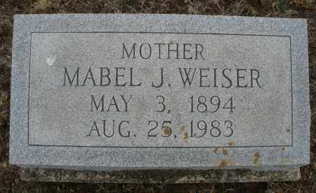 WEISER, MABEL J. - Montgomery County, Ohio | MABEL J. WEISER - Ohio Gravestone Photos