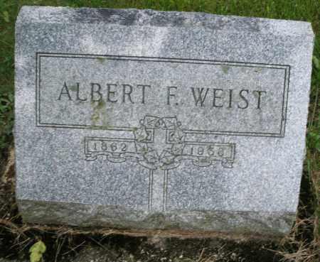 WEIST, ALBERT F. - Montgomery County, Ohio | ALBERT F. WEIST - Ohio Gravestone Photos