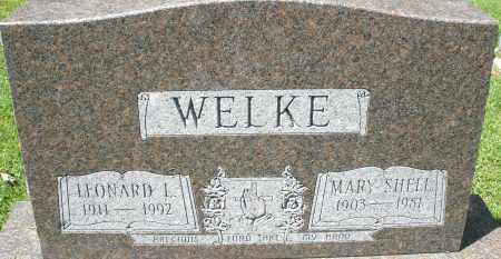 SHELL WELKE, MARY - Montgomery County, Ohio | MARY SHELL WELKE - Ohio Gravestone Photos