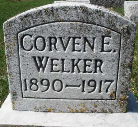 WELKER, CORVEN E. - Montgomery County, Ohio | CORVEN E. WELKER - Ohio Gravestone Photos