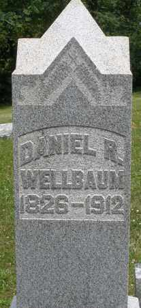 WELLBAUM, DANIEL R. - Montgomery County, Ohio | DANIEL R. WELLBAUM - Ohio Gravestone Photos