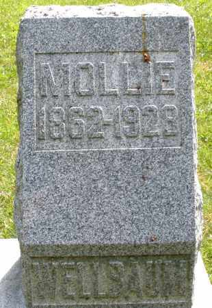 WELLBAUM, MOLLIE - Montgomery County, Ohio | MOLLIE WELLBAUM - Ohio Gravestone Photos