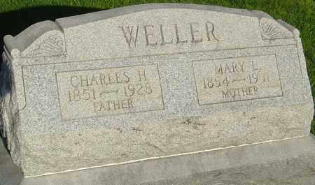 WELLER, CHARLES H - Montgomery County, Ohio | CHARLES H WELLER - Ohio Gravestone Photos