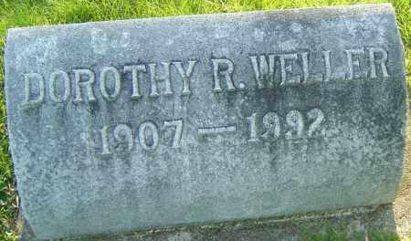 WELLER, DOROTHY R - Montgomery County, Ohio | DOROTHY R WELLER - Ohio Gravestone Photos