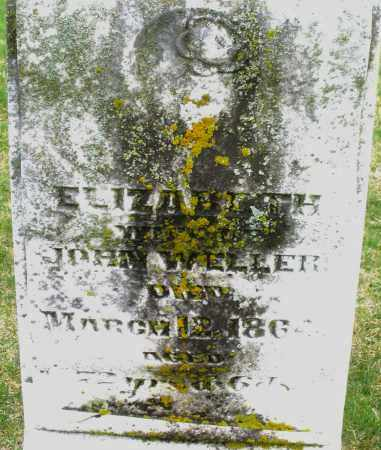 WELLER, ELIZABETH - Montgomery County, Ohio | ELIZABETH WELLER - Ohio Gravestone Photos