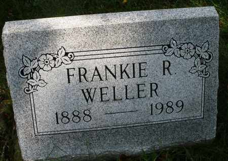 WELLER, FRANKIE R. - Montgomery County, Ohio | FRANKIE R. WELLER - Ohio Gravestone Photos