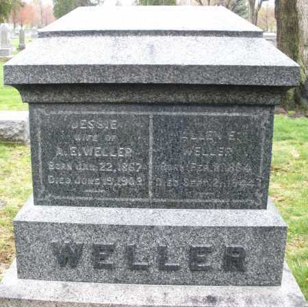 WELLER, JESSIE - Montgomery County, Ohio | JESSIE WELLER - Ohio Gravestone Photos