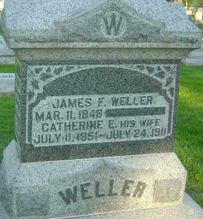 WELLER, CATHERINE ELIZABETH - Montgomery County, Ohio | CATHERINE ELIZABETH WELLER - Ohio Gravestone Photos