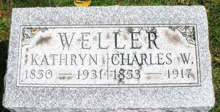 WELLER, KATHRYN - Montgomery County, Ohio | KATHRYN WELLER - Ohio Gravestone Photos