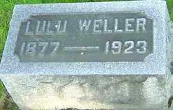 WELLER, LULU - Montgomery County, Ohio | LULU WELLER - Ohio Gravestone Photos