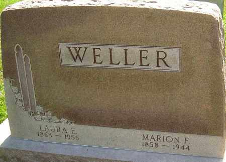 WELLER, MARION F - Montgomery County, Ohio | MARION F WELLER - Ohio Gravestone Photos
