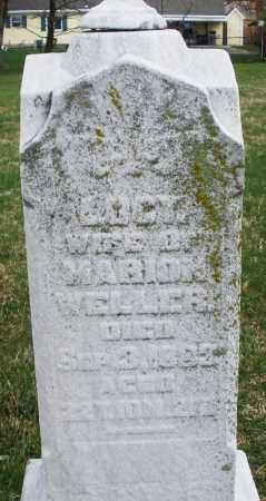 WELLER, LUCY - Montgomery County, Ohio | LUCY WELLER - Ohio Gravestone Photos
