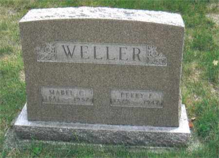 WELLER, MABEL - Montgomery County, Ohio | MABEL WELLER - Ohio Gravestone Photos