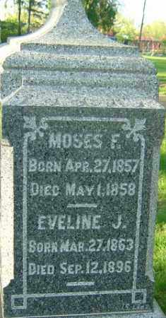 WELLER, EVELINE J - Montgomery County, Ohio | EVELINE J WELLER - Ohio Gravestone Photos