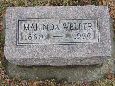 WATKINS WELLER, MALINDA - Montgomery County, Ohio | MALINDA WATKINS WELLER - Ohio Gravestone Photos