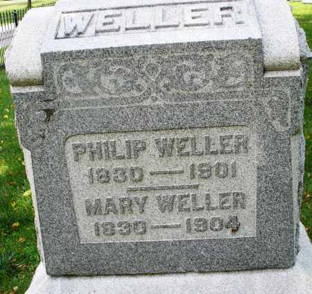 WELLER, MARY - Montgomery County, Ohio | MARY WELLER - Ohio Gravestone Photos
