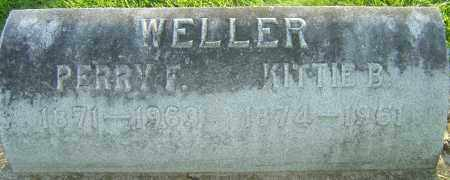 BRADFORD WELLER, KITTIE - Montgomery County, Ohio | KITTIE BRADFORD WELLER - Ohio Gravestone Photos