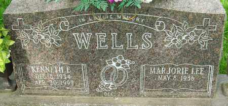 WELLS, KENNETH EDWIN - Montgomery County, Ohio | KENNETH EDWIN WELLS - Ohio Gravestone Photos