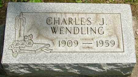 WENDLING, CHARLES J - Montgomery County, Ohio | CHARLES J WENDLING - Ohio Gravestone Photos