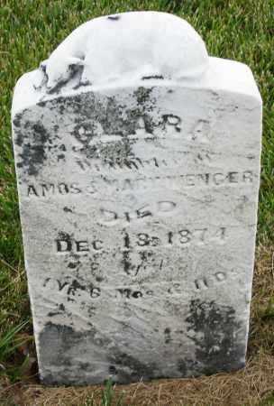 WENGER, CLARA - Montgomery County, Ohio | CLARA WENGER - Ohio Gravestone Photos