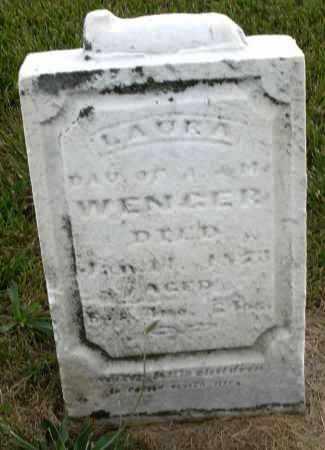 WENGER, LAURA - Montgomery County, Ohio | LAURA WENGER - Ohio Gravestone Photos