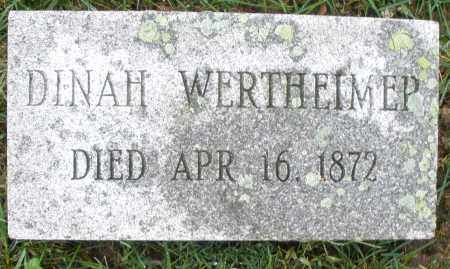 WERTHEIMER, DINAH - Montgomery County, Ohio | DINAH WERTHEIMER - Ohio Gravestone Photos