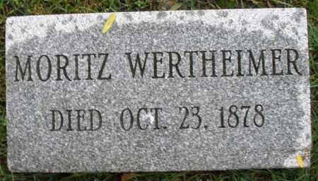 WERTHEIMER, MORITZ - Montgomery County, Ohio | MORITZ WERTHEIMER - Ohio Gravestone Photos