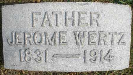 WERTZ, JEROME - Montgomery County, Ohio | JEROME WERTZ - Ohio Gravestone Photos