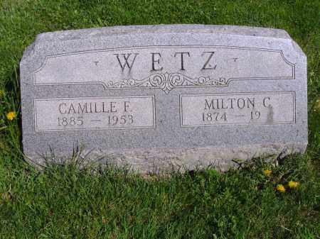 WETZ, MILTON C - Montgomery County, Ohio | MILTON C WETZ - Ohio Gravestone Photos