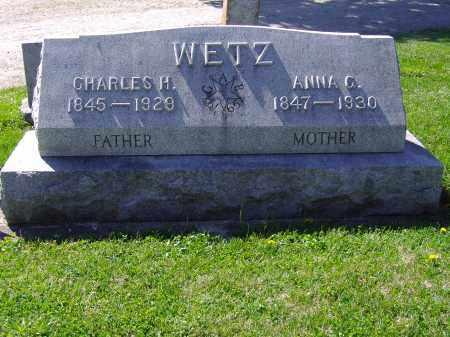 WETZ, CHARLES H - Montgomery County, Ohio | CHARLES H WETZ - Ohio Gravestone Photos
