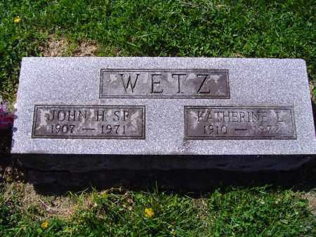 WIEGAND WETZ, KATHERINE L - Montgomery County, Ohio | KATHERINE L WIEGAND WETZ - Ohio Gravestone Photos