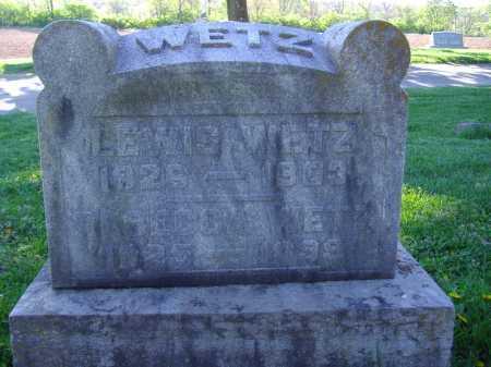 WETZ, REBECCA - Montgomery County, Ohio | REBECCA WETZ - Ohio Gravestone Photos