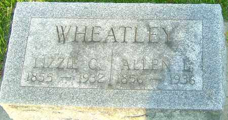 WHEATLEY, ELIZABETH - Montgomery County, Ohio | ELIZABETH WHEATLEY - Ohio Gravestone Photos