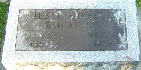 WHEATLEY, JESSE GILBERT - Montgomery County, Ohio | JESSE GILBERT WHEATLEY - Ohio Gravestone Photos