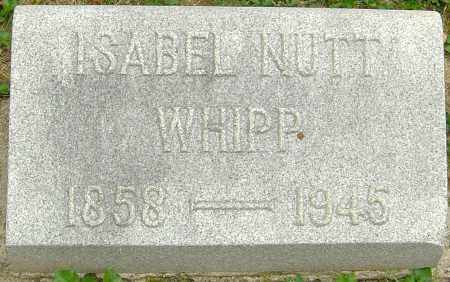 NUTT WHIPP, ISABEL - Montgomery County, Ohio | ISABEL NUTT WHIPP - Ohio Gravestone Photos