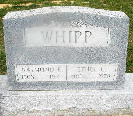 WHIPP, ETHEL L. - Montgomery County, Ohio | ETHEL L. WHIPP - Ohio Gravestone Photos