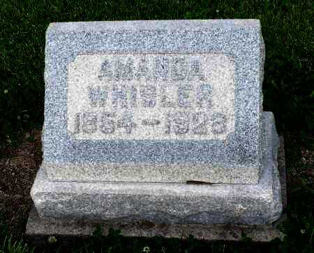 WHISLER, AMANDA - Montgomery County, Ohio | AMANDA WHISLER - Ohio Gravestone Photos