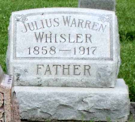 WHISLER, JULIUS WARREN - Montgomery County, Ohio | JULIUS WARREN WHISLER - Ohio Gravestone Photos