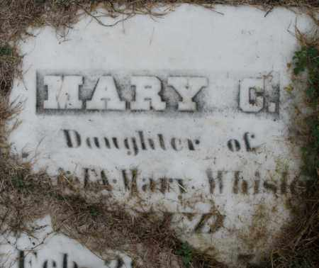 WHISLER, MARY C. - Montgomery County, Ohio | MARY C. WHISLER - Ohio Gravestone Photos