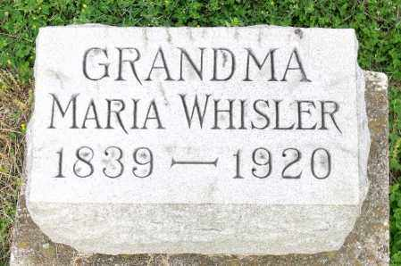 WHISLER, MARIA - Montgomery County, Ohio | MARIA WHISLER - Ohio Gravestone Photos