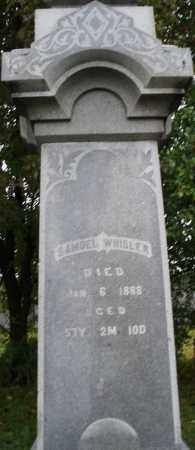 WHISLER, SAMUEL - Montgomery County, Ohio | SAMUEL WHISLER - Ohio Gravestone Photos