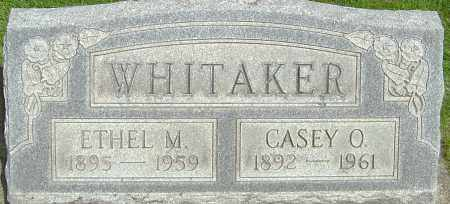 WHITAKER, ETHEL M - Montgomery County, Ohio | ETHEL M WHITAKER - Ohio Gravestone Photos